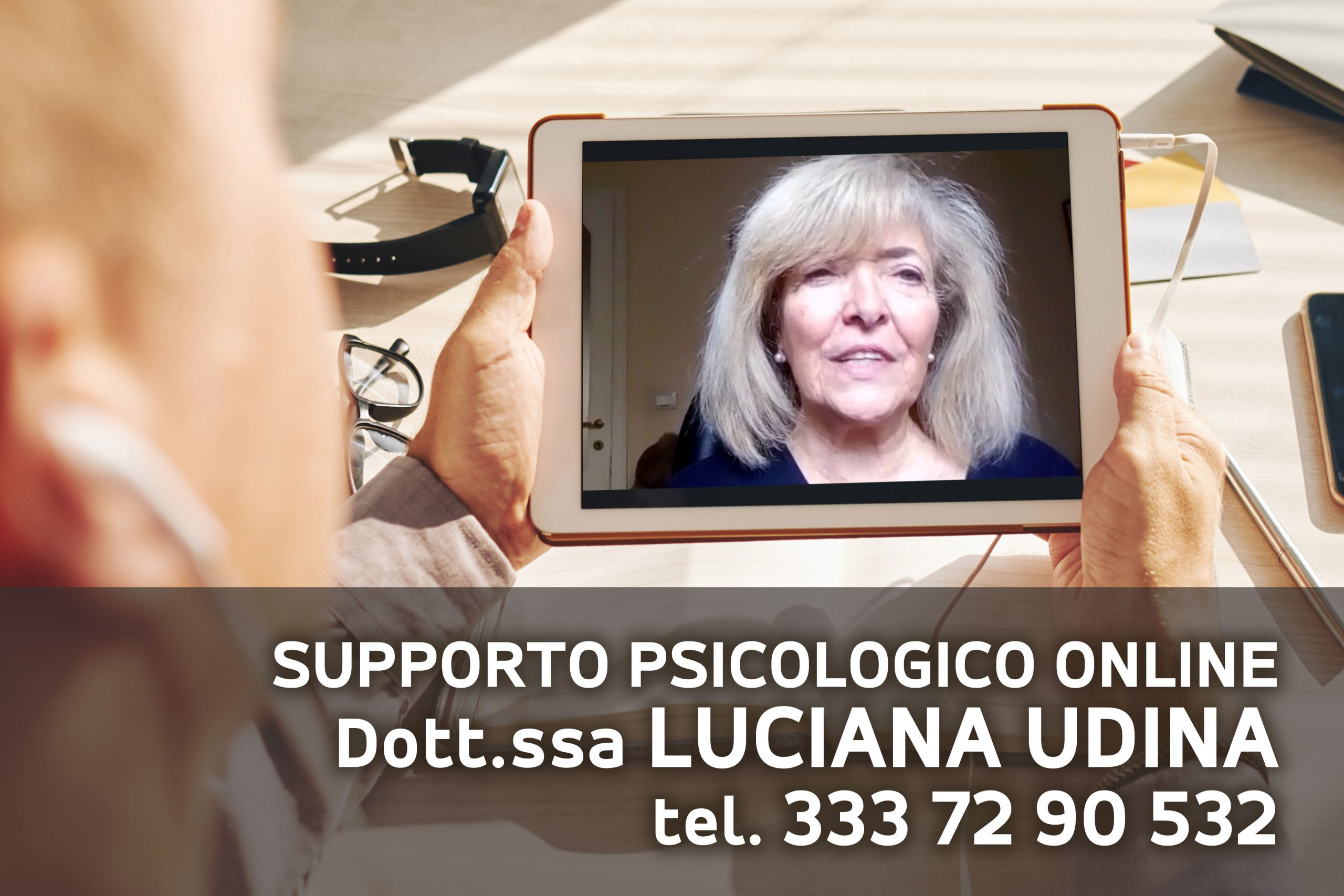 Luciana Udina Psicologa Trieste Supporto Online e Clinico